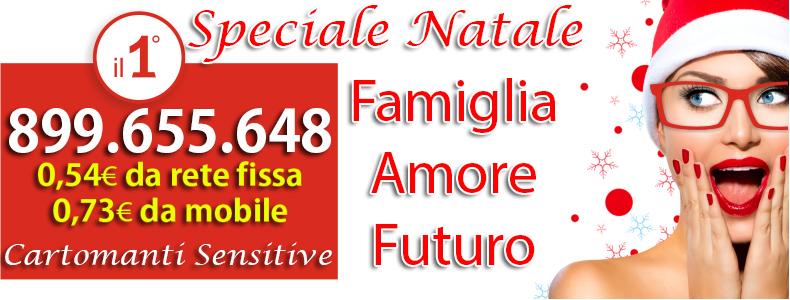 speciale natale cartomanzia dicembre